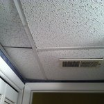 Ceiling in bathroom, Surf Sounds