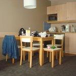 Kitchenette, espace repas