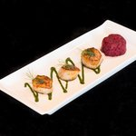 Pan Seared Scallops with Beets