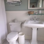Bathroom in the double bedded room