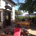 Ein beliebter Stopp im Wienerwald für Wanderer und Radfahrer