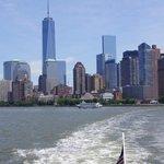 NY vers la statue de la liberté