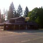 Poor quality photo taken in the morning. But this is the Elkhorn, rich in history.
