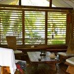 "salon du bungalow ""Cambodge"""