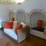 Trullo suite lounge