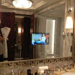 Bathroom (with TV ON)