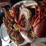 Gorgeous seafood platter at this lovely restaurant