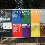Beach by Zones