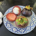 Breakfast includes Thai Fruit - Mangosteen