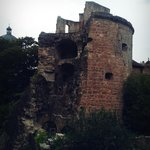 zerstörter Turm- Schloss Heidelberg