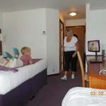 wife & grandson in room