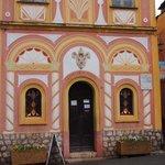 礼拝堂の入り口