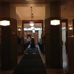 La zona prima del ristorante