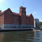 Hotellet set fra vandsiden