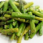 Summer asparagus