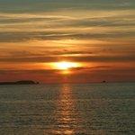 Perfekter Sonnenuntergang