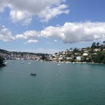 View of Dartmouth from top of Gun Tower