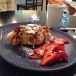 Amazing stuffed French toast!