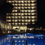 Hotel at night!