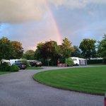 Rainbow over the Walnut Circle