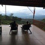 stunning views from veranda
