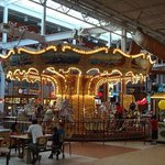 Carousel in Food Court