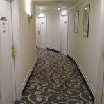 corridoio interno settimo piano