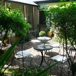 Our stunning garden area, perfect for having coffee or breakfast