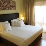 Schlafbereich der JuniorSuite (Zimmer 602)