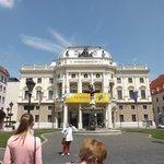 Национальный театр на на площади Гвездослава