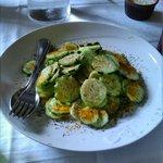 Insalata di cetriolo e spezie