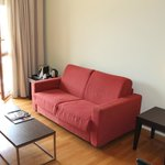 Aufenthaltsbereich (2. Zimmer) der JuniorSuite (Zimmer 602)