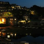 Looe at night