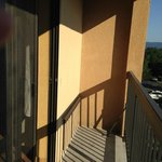 Small Juliet balcony