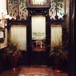 inviting entranceway