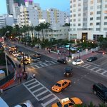 The best view of South Beach night life.