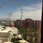 View from our basic room