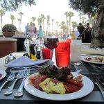 Dinner at The Gazebo