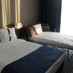 Habitación-variedad de almohadas!!
