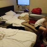 Camera per 4 al quarto piano