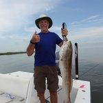 fishing near Venice, LA.
