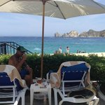 Beautiful View of the Sea of Cortez from the pool area