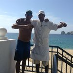 "Our pool waiter Hugo ""Boss""  The Best in the West!"