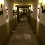 Corridor on floor