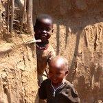 Maasai children at play