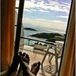 Vista do quarto superior para a praia de João Fernandes