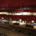Breads, pastries and cheeses