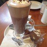 Amazing hot chocolate and chocolates!