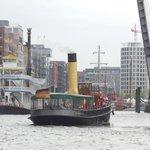 Sicht vom Traditionsschiffhafen