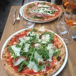 Our pizzas with a  spritz